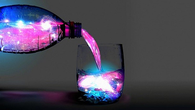 Светящаяся вода своими руками фото 977